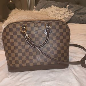 Louis Vuitton AlmaPm Damier Ebene Cross Body Bag